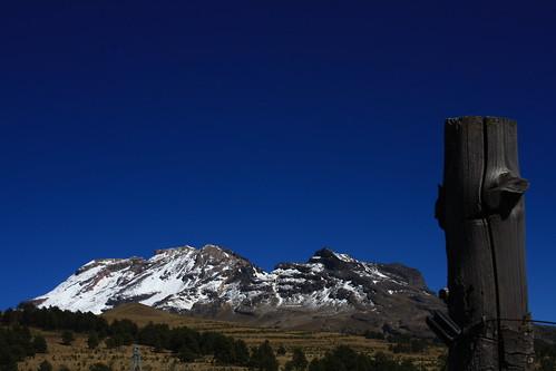Pico de Orizaba desde el Popocatepetl