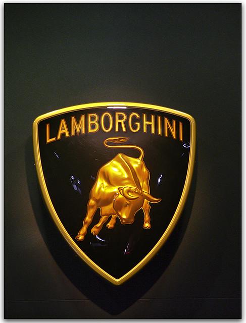 Lamborghini The Lamborghini Charging Bull Logo Stands For Flickr
