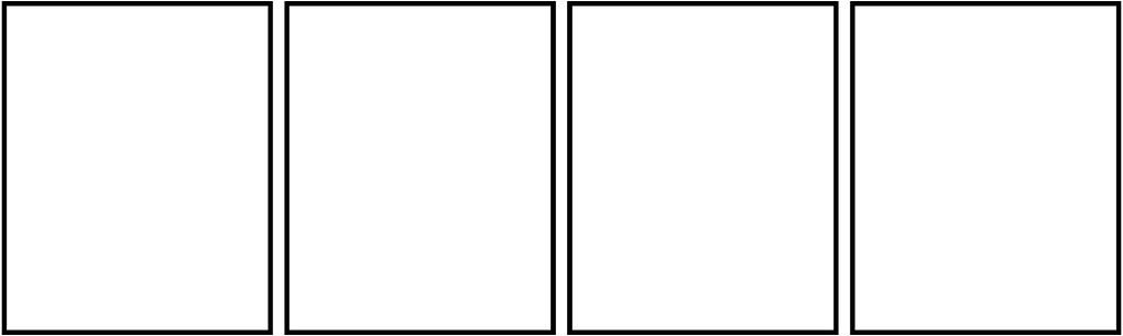 Blank 4 Panel Comic Strip Kahoonica