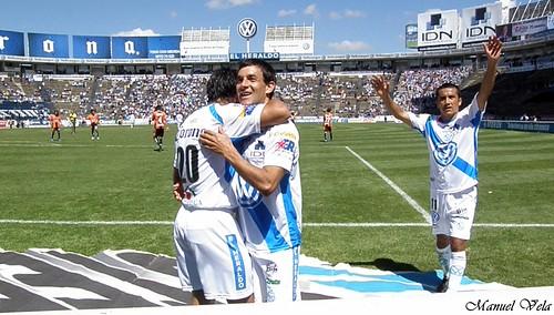 Pachuca derrota al Puebla en casa, marcador 5-3 por LAE Manuel Vela