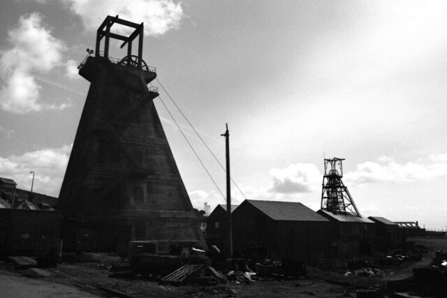 pit shafts eppleton colliery