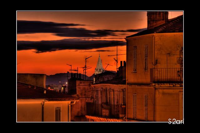 Marseille - Quartier de la gare par Karim SAARI