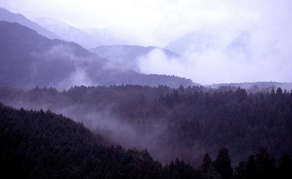 木曽山脈 The Kiso mountains by arapy