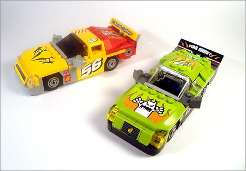 NASCAR Cars #56 & #57
