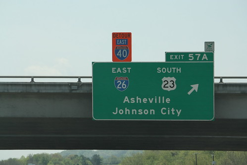 2010 vacation signs mountains tennessee us23 i81 i40 i26 interstate40 interstate81 interstate26 canonxsi 500views