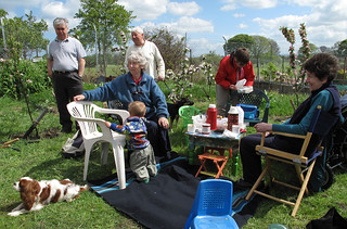 Craigentinny Allotment Spring BBQ | by Richard X