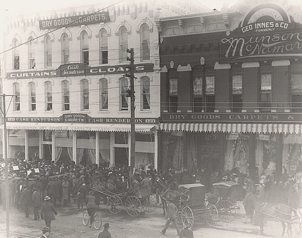 Finlay Ross Furniture Store Wichita Ks An 1898 Photo Of Flickr