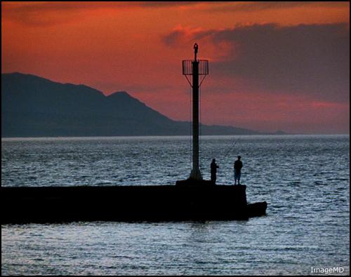 Corinth Sunset