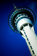 Sky Tower, Deep Blue