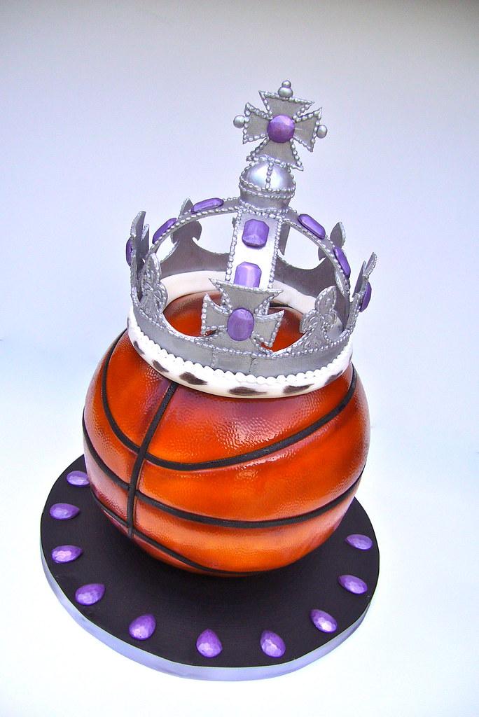 Sacramento Kings Basketball Cake