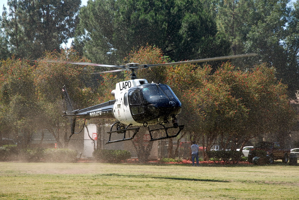 LOS ANGELES POLICE DEPARTMENT (LAPD) HELICOPTER N662PD | Flickr