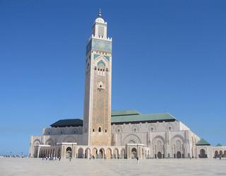 Hassan II Mosque, Casablanca   by Mary Loosemore