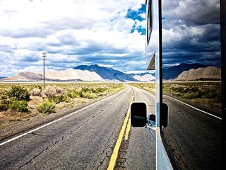 On the road | by chrisleishman