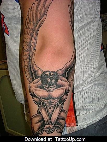 Angel Tattoo Designs Men Angel Tattoo Angel Tattoo Design Flickr