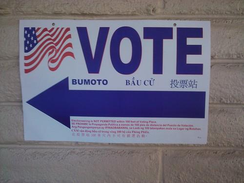 One last reminder. Go Vote!