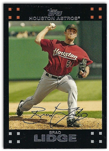2007 Topps Brad Lidge | by NJ Baseball
