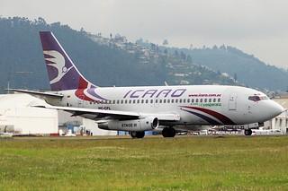 Icaro Boeing 737-236; HC-CFL@UIO;22.06.2008/514cb
