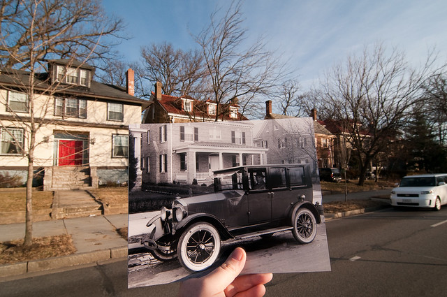 Looking Into the Past: 16th Street NW, Washington, DC