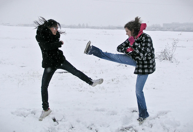 Snow Fight!