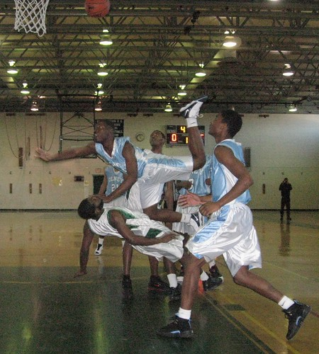 This action took place in 2010 as Olney (light blue) visited Germantown. | by tedtee308