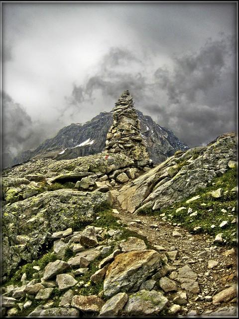 Switzerland On the way to the Lötschenpass ( 2680m )