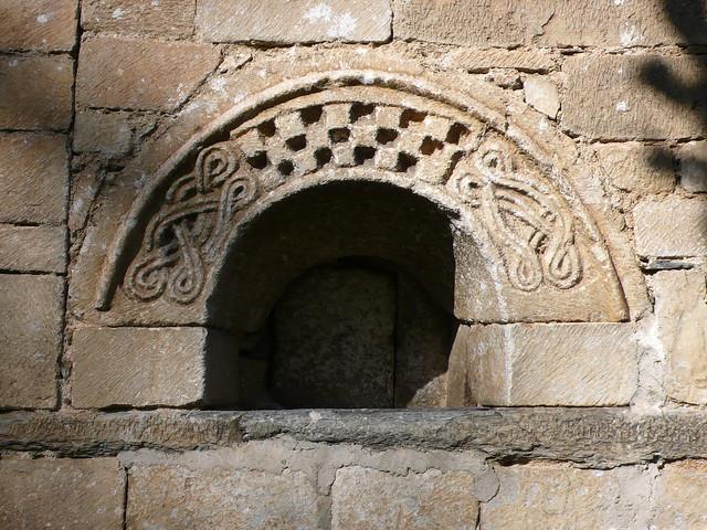 Vilac: església de sant Fèlix, arc