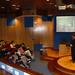 Xov, 25/03/2010 - 18:41 - Fernando Manzano, experto en inteligencia del grupo Interligare, durante la sesión que impartió a los participantes el programa Aulas de I+D, organizado conjuntamente por Tecnópole y la empresa Intellectia Bank. Tecnópole, 25 de marzo de 2010.