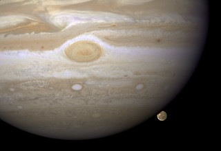 Hubble Catches Jupiter's Largest Moon Going to the 'Dark Side' | by NASA Goddard Photo and Video