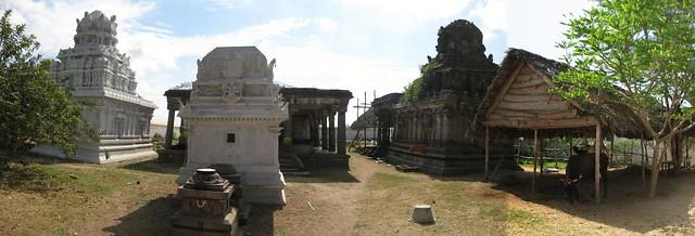Andal shrine, Perumal shrine and Mahalakshmi shrine