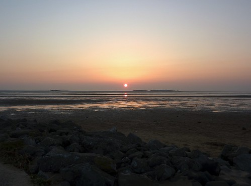 Hilbre Sunset (17/04/2010)