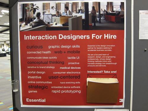 Essential - Interaction Designer