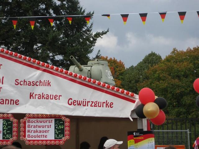20081003 Berlin Charlottenburg Tiergarten Brandenburger Tor Tag der Deutschen Einheit