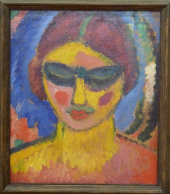 Alexej Jawlensky – Girl with eyes cast down (1912)