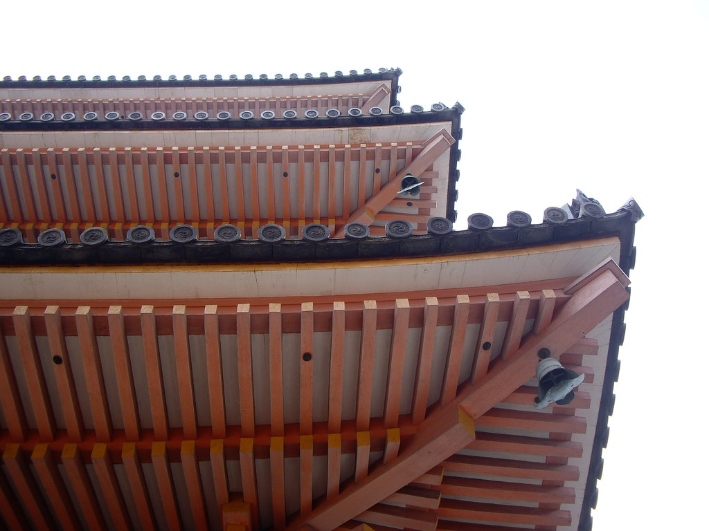 Detail Of The Underside Of Pagoda Roof Six0six Design Flickr