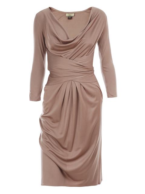 issa cowl neck dress