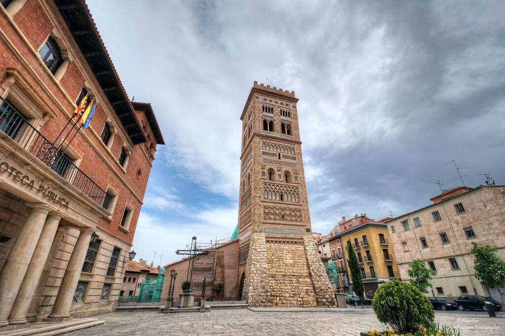 Resultado de imagen de torre de san martín de teruel
