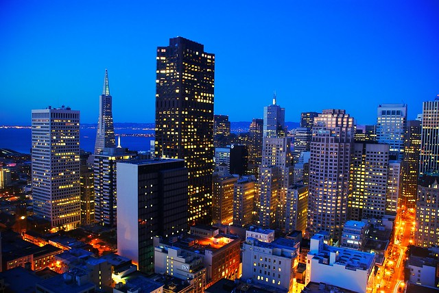 Blue Hour in San Francisco