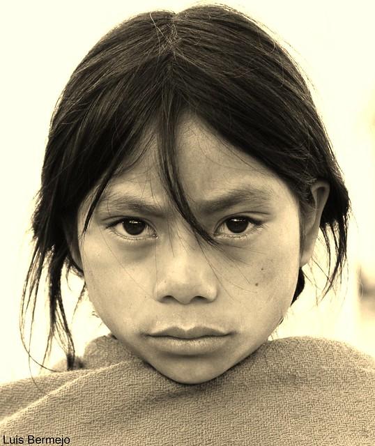 Niña Maya, Etnia Chamula - México