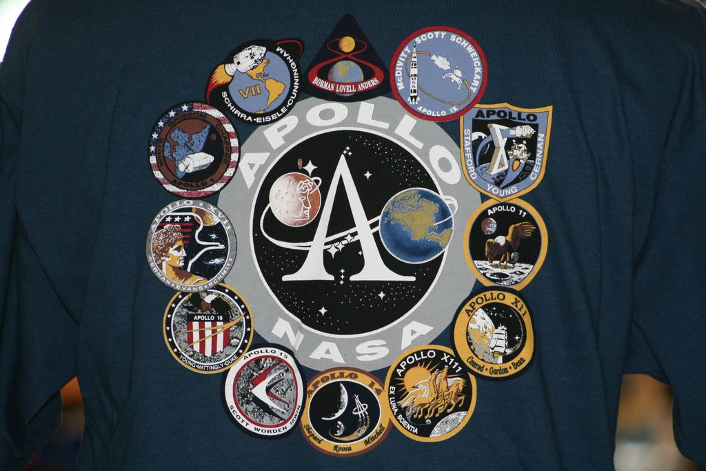 All-View Apollo Mission Patches