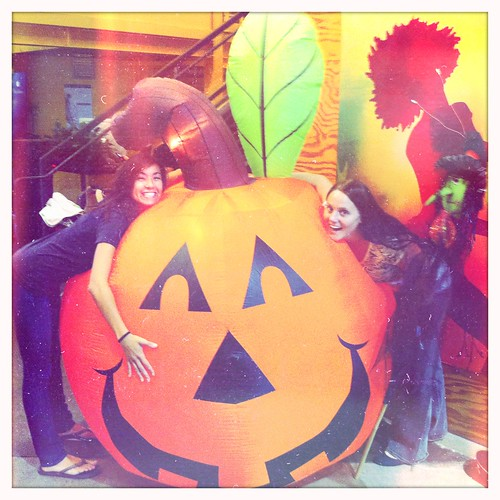 lali and a pumpkin, @ tbwa chiat day