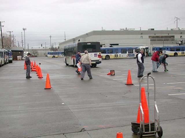 12-9-04 Bus Yard test