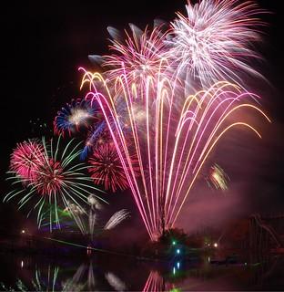 Fantastic Fireworks at Drayton Manor Park 2010