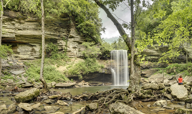 Greeter Falls, South Cumberland State Park, Grundy County, Tennessee 6