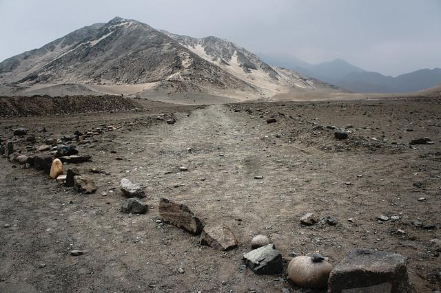 Caral - landscape