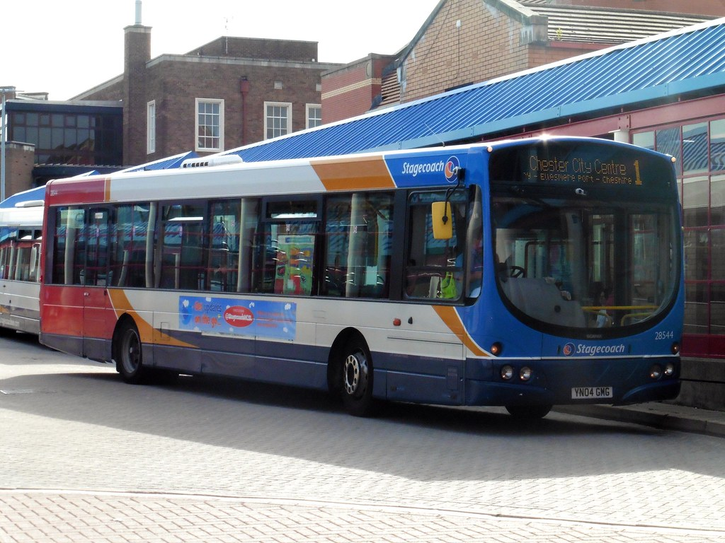 Stagecoach 28544 Yn04 Gmg Stagecoach Wirral Scania L94ub Flickr