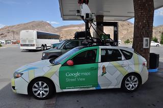Google Map car Beatty NV July 2015