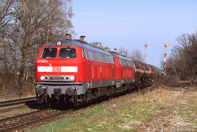 217 016 und 016, Thann-Matzbach, 02.04.2004