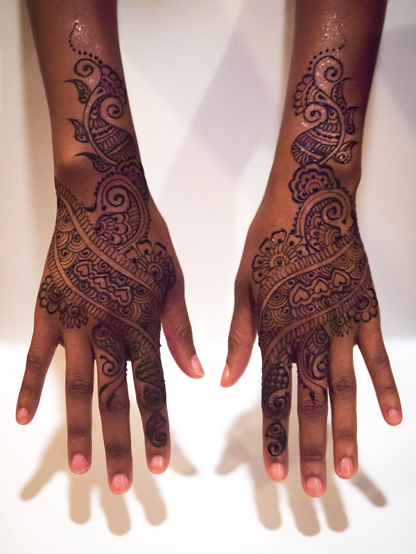 kenzi henna - exquisite body art - Bridal Henna Information