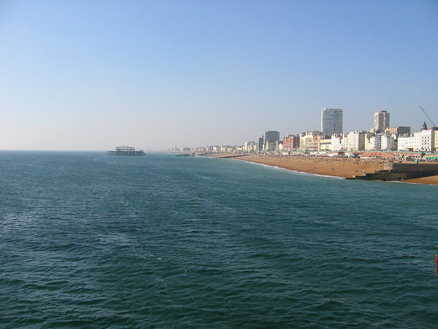 View from Brighton Palace Pier