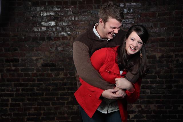 John & Cassie Engagement: Hugs All Around